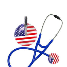 Load image into Gallery viewer, American Flag Stethoscope