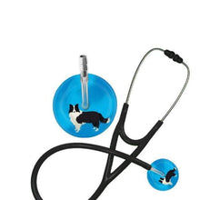 Load image into Gallery viewer, Border Collie Stethoscope