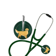 Load image into Gallery viewer, Golden Retriever Stethoscope