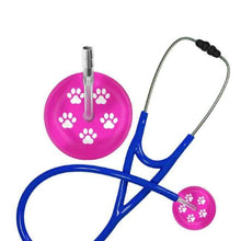 Load image into Gallery viewer, Paw Print Stethoscope