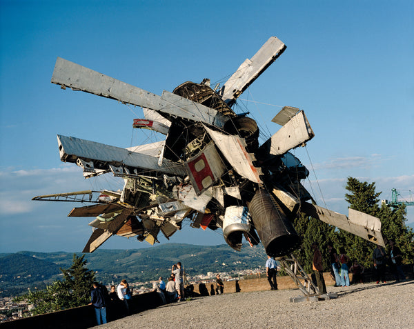 Airplane Parts at Forte Belvedere by Nancy Rubins