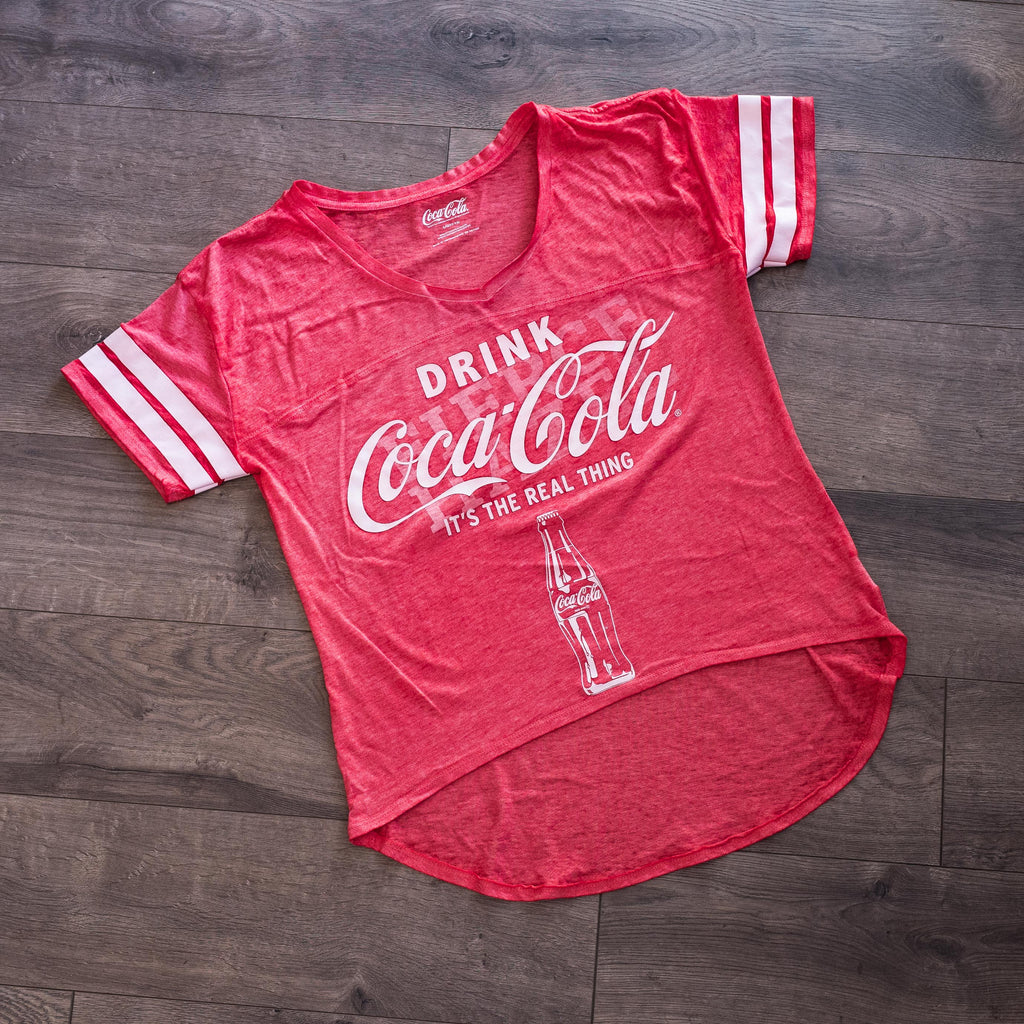 Drink Coca-Cola Lightweight T-Shirt, Large