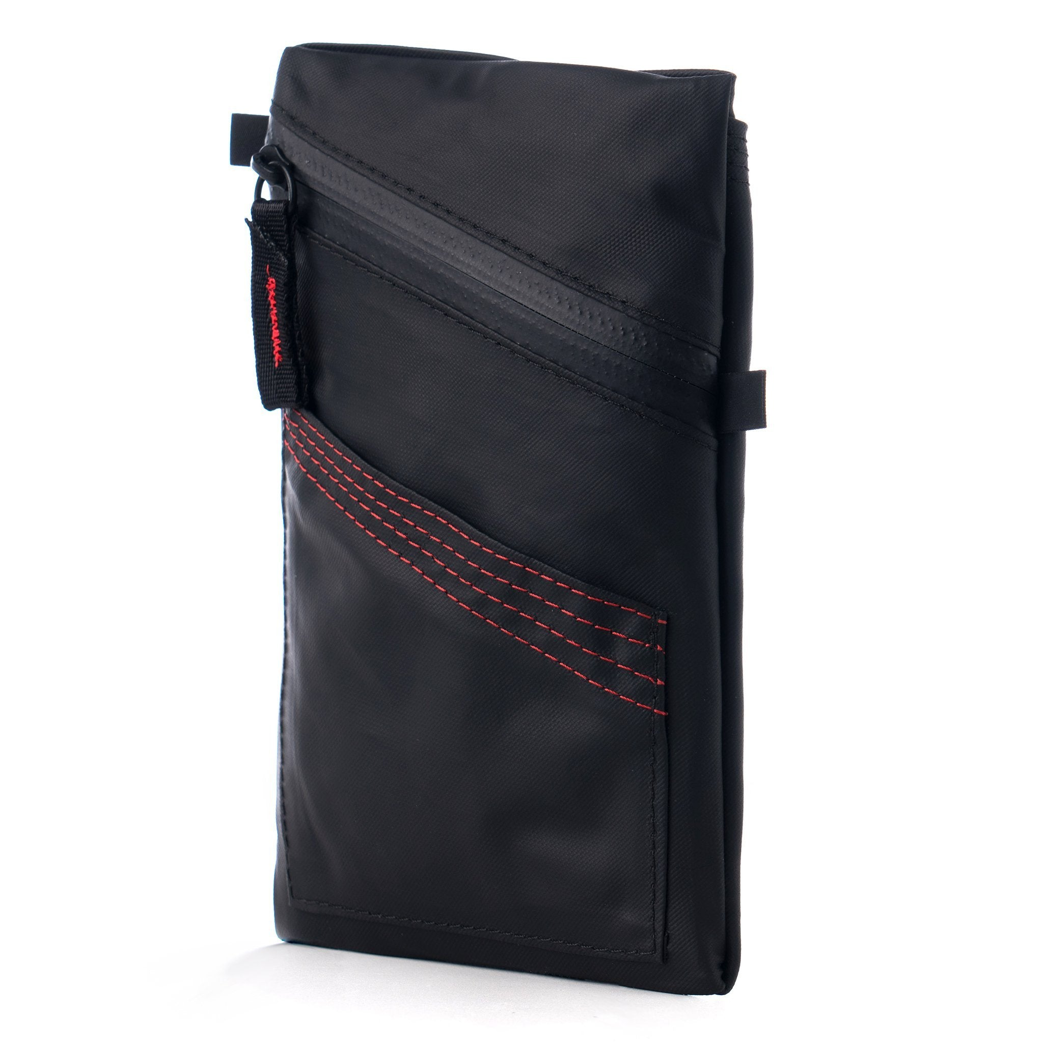 Ballistic black cycling ride pouch weatherproof durable rainproof phone wallet