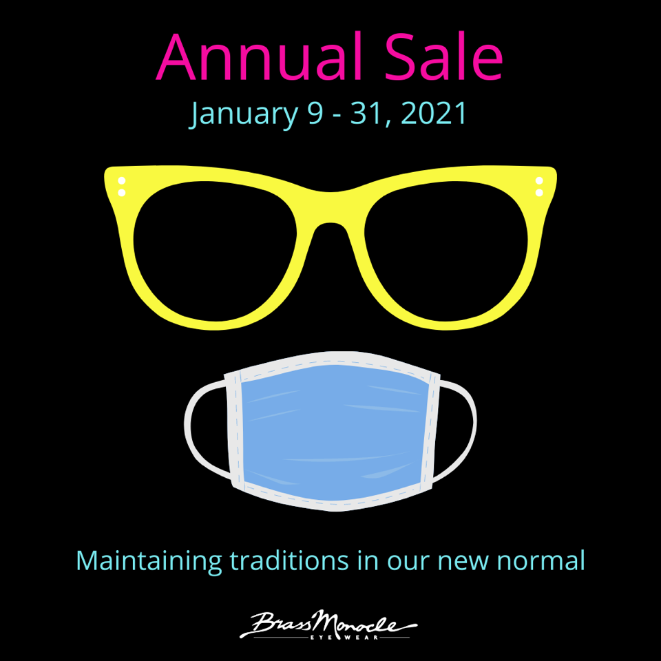 2020 is Hindsight! It's time for The Brass Monocle's Annual Sale