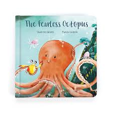 Jellycat 'The Fearless Octopus' Book