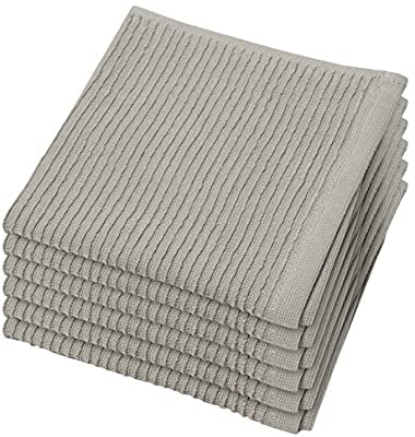 Ripple London Gray Dishcloths