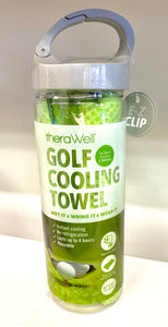 Golf Cooling Towel - Green