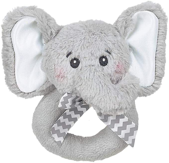 Lil' Spout Elephant - Baby Rattle