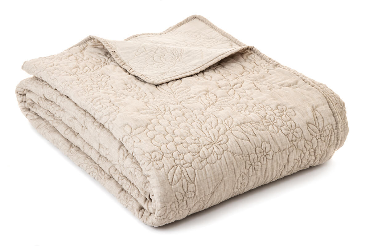 Brunelli Madisson Natural Quilt & Shams **store pickup only**