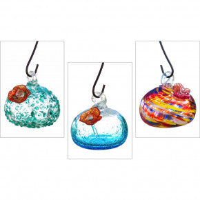 Art Glass Hummingbird Feeder