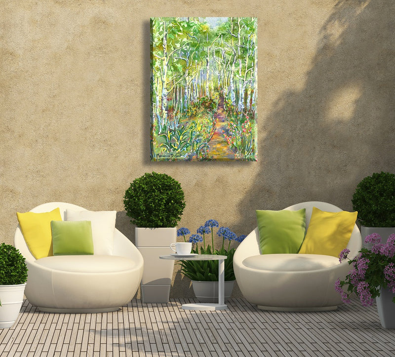 """Among the Aspens"" Indoor/Outdoor Wall Art"