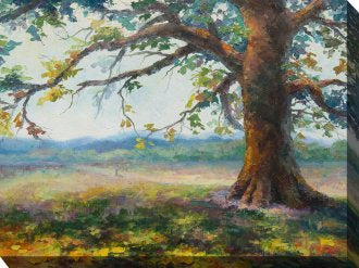 """Angel Oak Tree"" Indoor/Outdoor Wall Art"