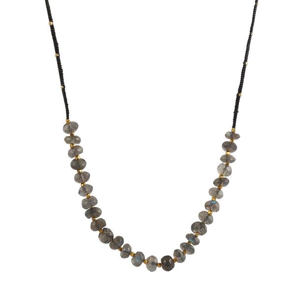 Danielle Welmond- Labradorite Beaded Necklace