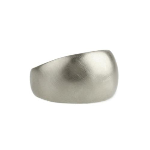 Sarah McGuire - Half Sleeve Ring in Sterling Silver, Size 5.5
