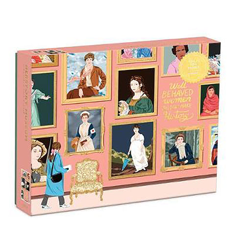 1000 Piece Herstory Museum Jigsaw Puzzle