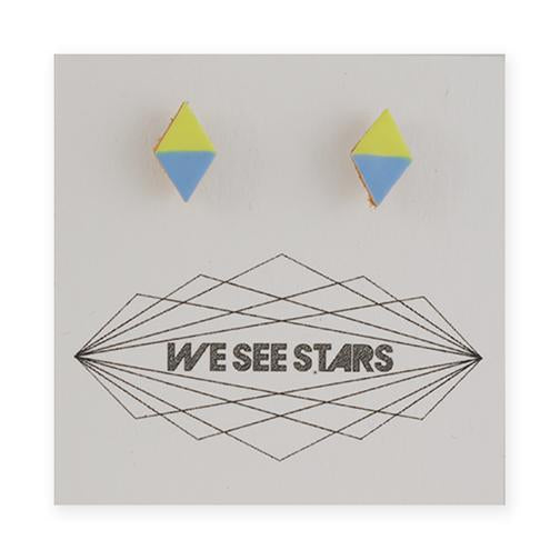 We See Stars - Painted Leather Studs