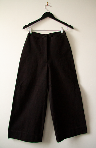 A-line 100% Cotton Twill Pants