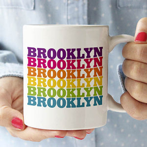 Rainbow Brooklyn Mug