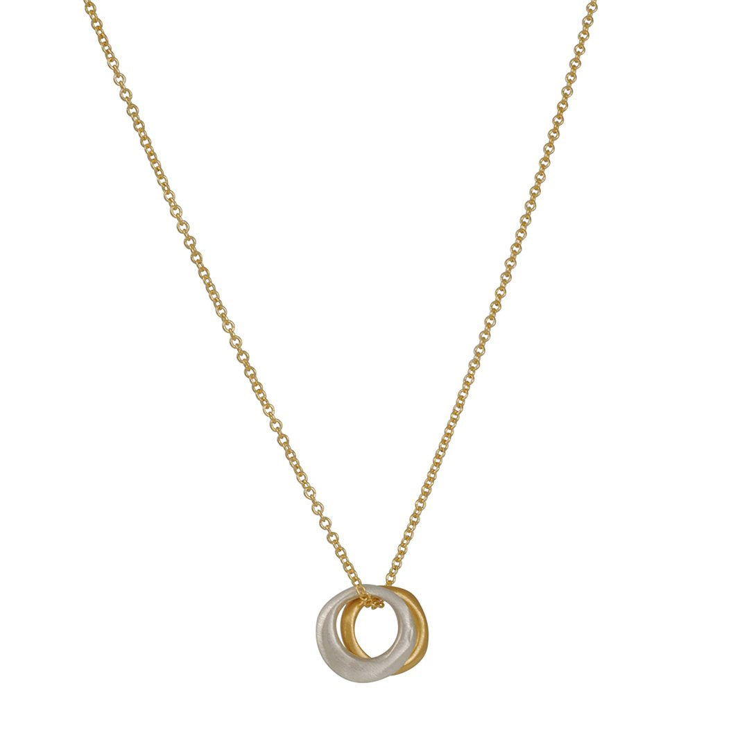 Philippa Roberts - Double Circles Necklace
