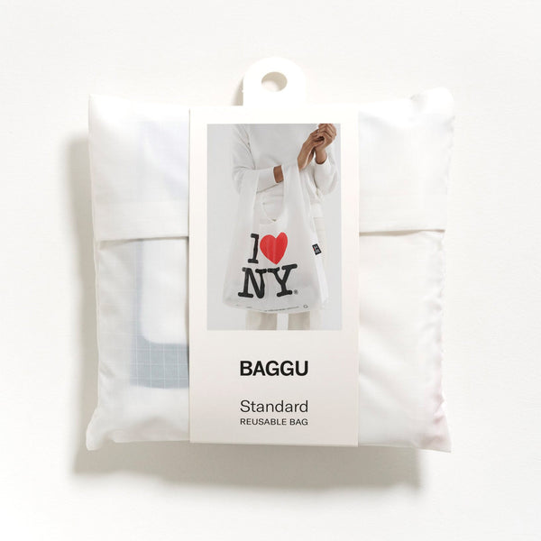 Baggu Reusable Standard Shopping Bag in I Love NY
