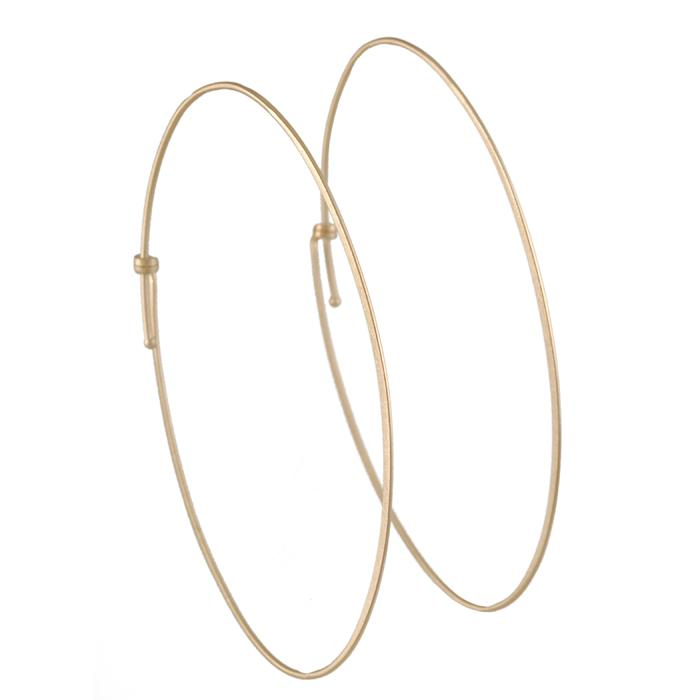 Carla Caruso - Oval Hoop Earrings