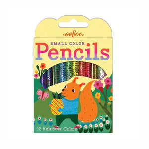 Small Colored Pencils with Assorted Animal Boxes