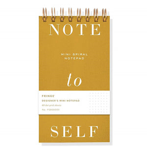 Note to Self Mini Notepad
