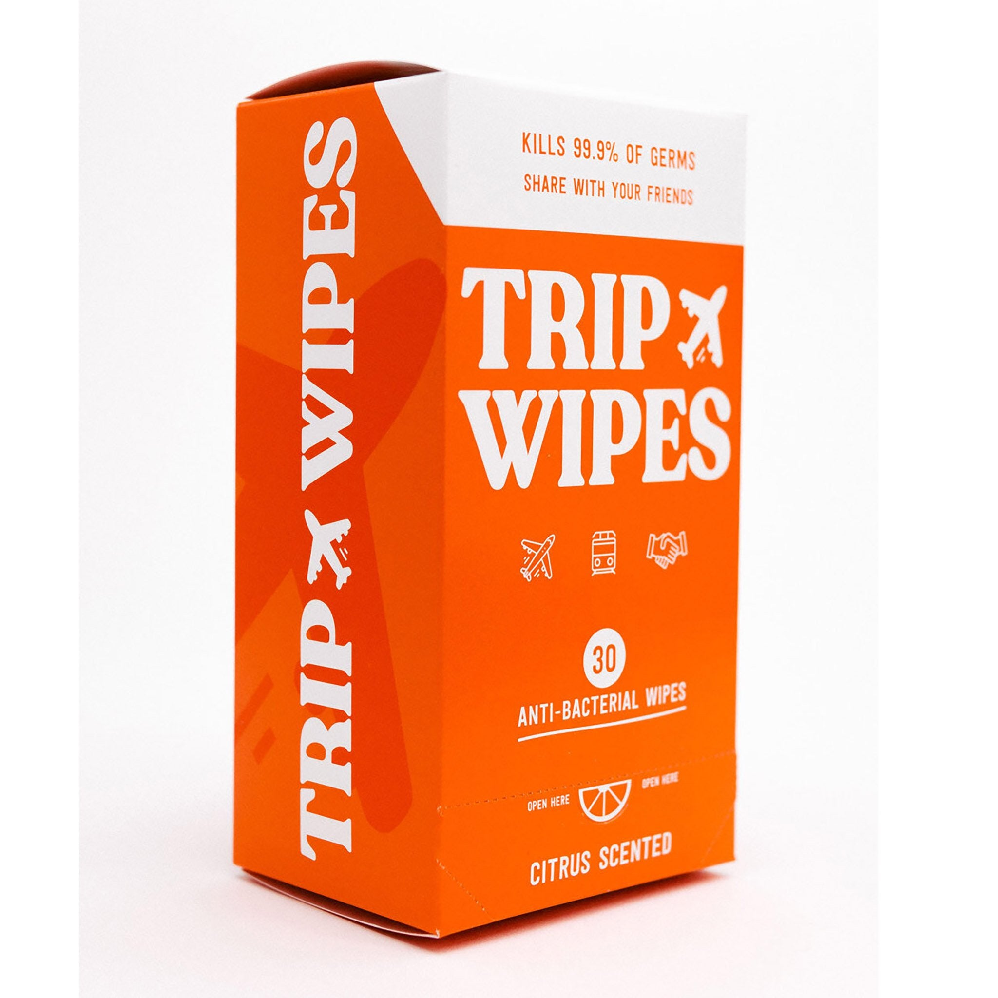 Trip Wipes 30 Count Box