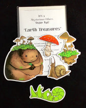 Load image into Gallery viewer, Sticker pack - Earth Treasures