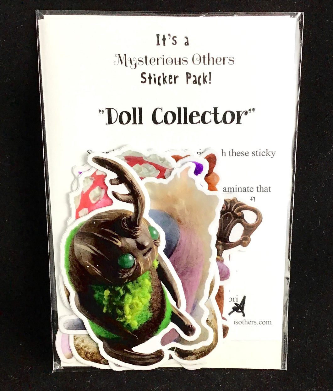 Sticker pack - Doll Collector