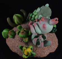 Load image into Gallery viewer, Earthly Succulent Crystal Guardian Pup- Surps