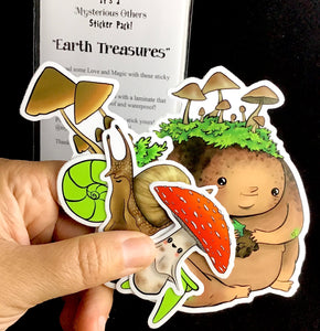 Sticker pack - Earth Treasures