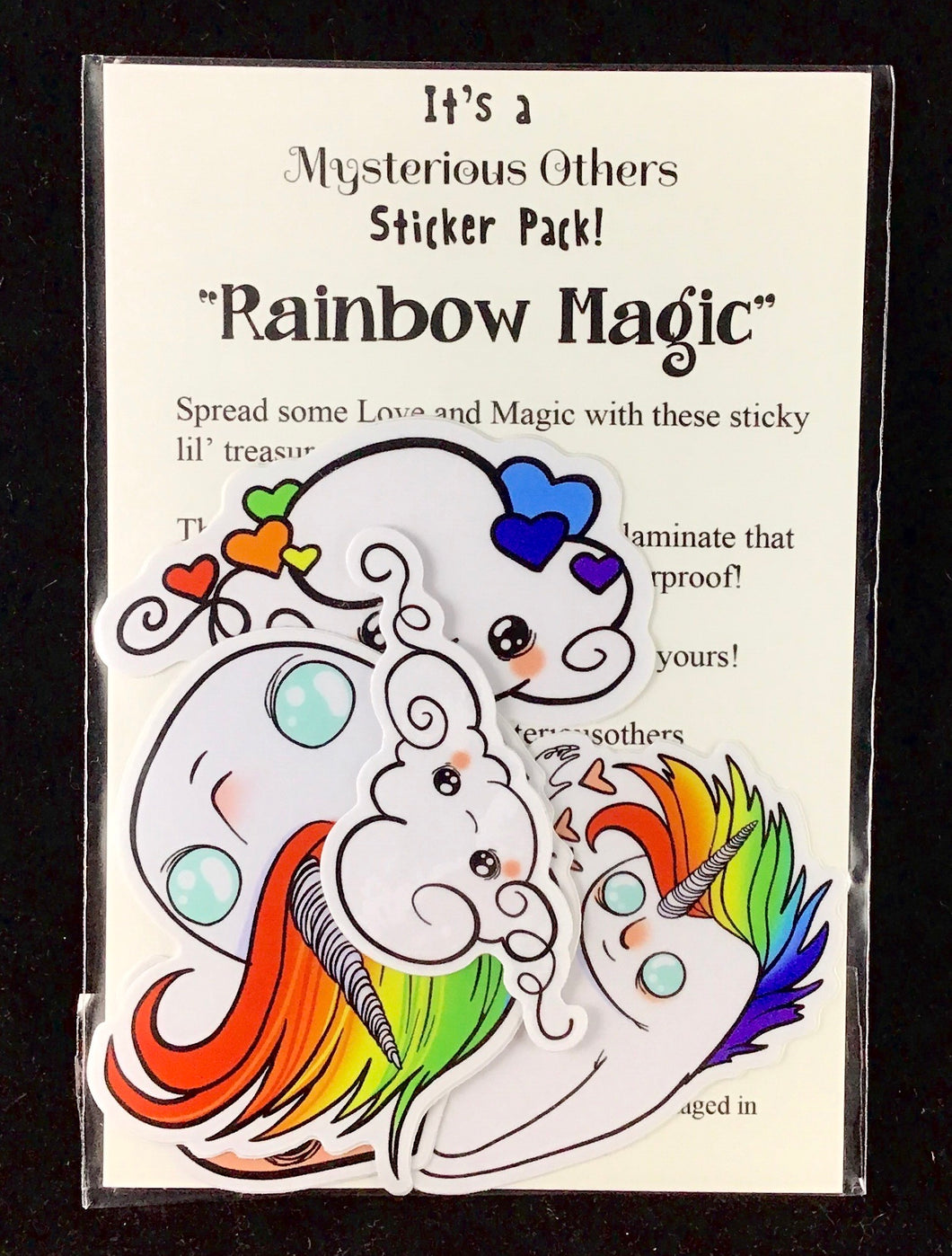 Sticker pack - Rainbow Magic