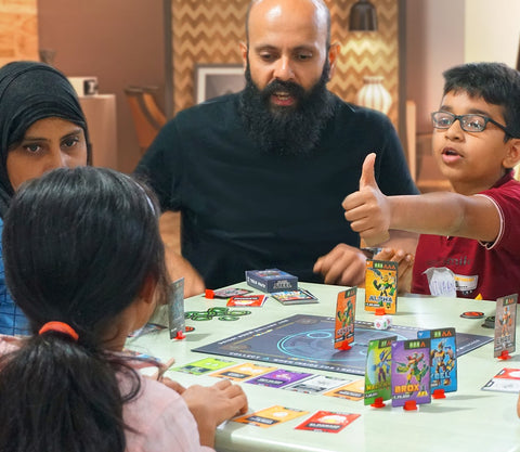 Educational benefits of Board Games