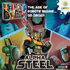 Educational Game for Kids: Alpha Steel - A Tactical Board Game