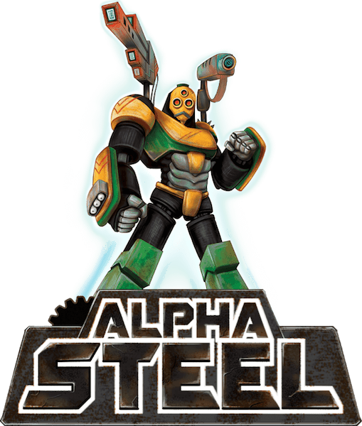 Alpha Steel Hero on top