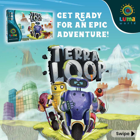 Terra Loop Game- A Learning board game for kid-Indoor game -Luma World