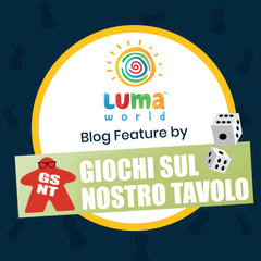 Read all about Luma World, our educational games, founder's story and amazing experiences as we speak to an Italian Game Blogger