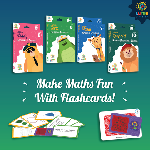 Flashcards-Use in Indoor games for kids-Luma World