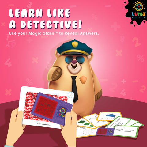 Get your little detective on their way to becoming a bonafide genius!