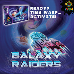Educational Game for Kids: Galaxy Raiders - A Strategy Board Game
