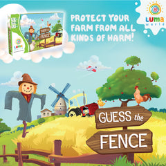 Educational Game for kids: Guess the Fence - A creative board game