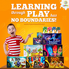 Now order Luma World educational games and STEM activity kits from anywhere in the world!
