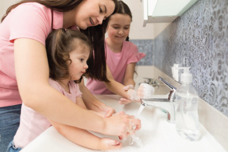 Good habits for kids-Kids washing hands-Luma World