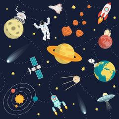 Explore outer space, discover new planets and moons and meet some weird monsters