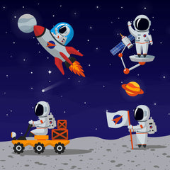 help your astronaut friends in this fun activity book for kids