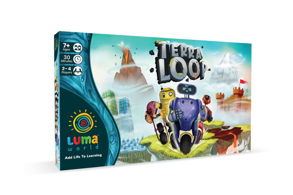 Learning Game For Kids-Terra Loop Box Image- By Luma world
