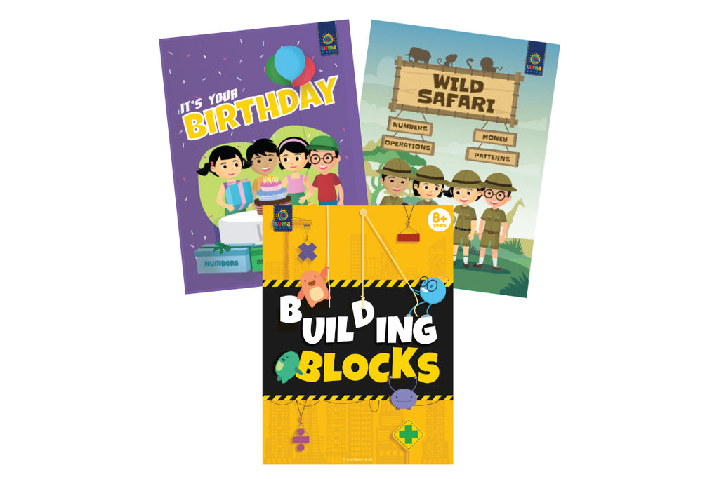 Fun With Numbers (3 Book Bundle)