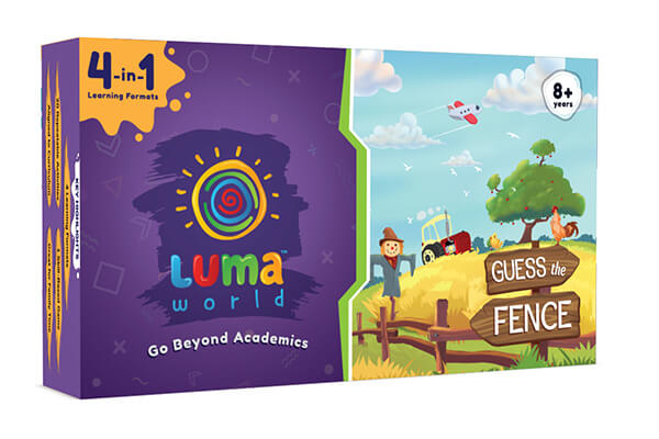 Guess The Fence Box image-Activity box for kids from Luma World