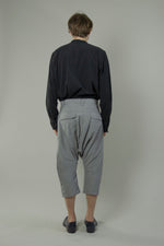 Load image into Gallery viewer, 3/4 Low Crotch Slim Pants